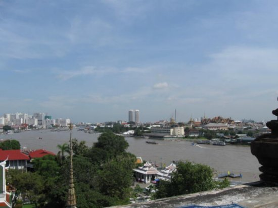 Bangkok from the top of Wat Arun