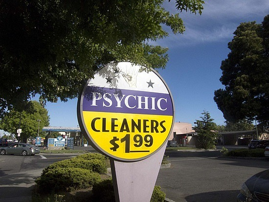 The Mountain View Psychic Cleaner!