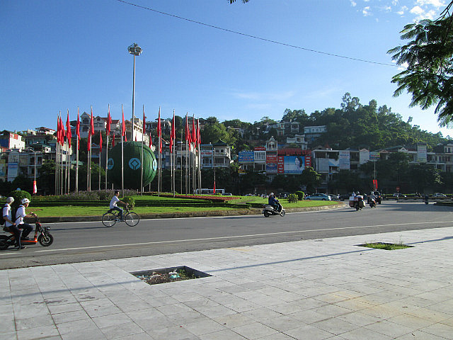 Second roundabout, they LOVE UNESCO
