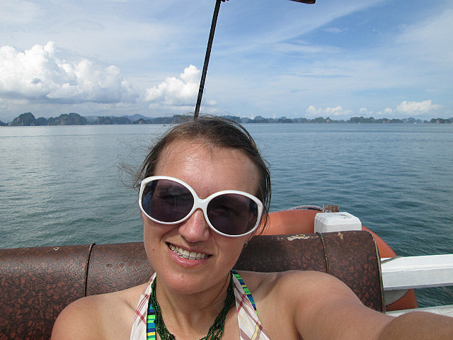 Me on the boat