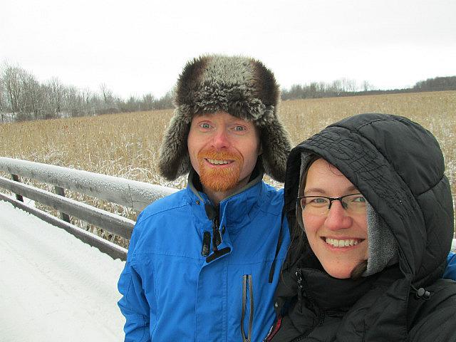Me and Brian at Mer Bleue Bog