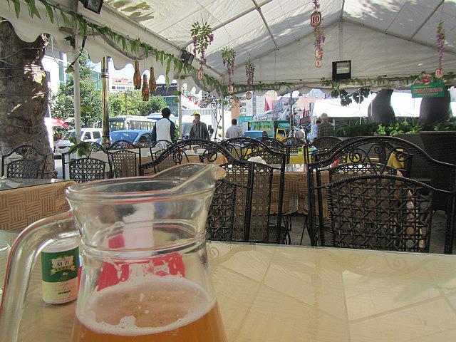 German-Chinese beer garden