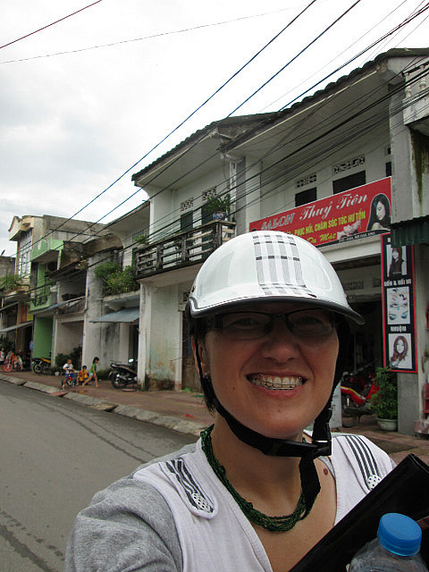 Me on motorcycle