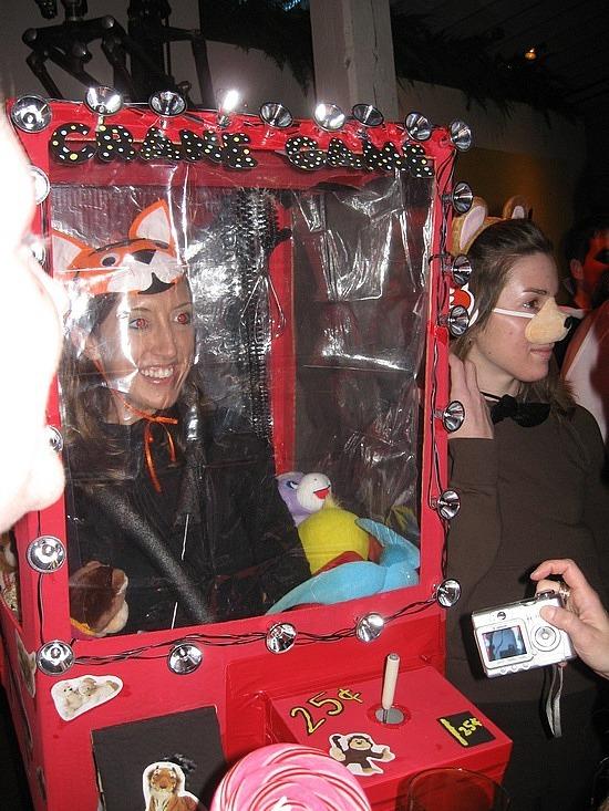 The winning costume