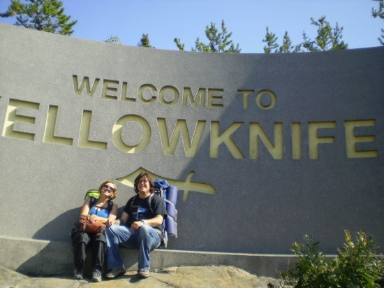 The Yellowknife sign