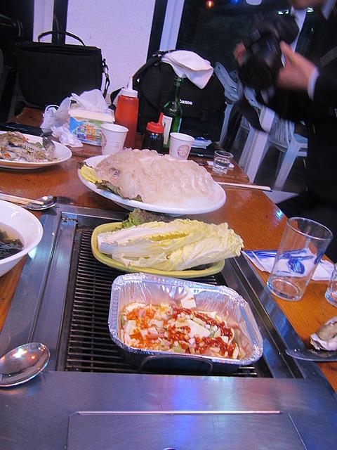 a PILE of sashimi