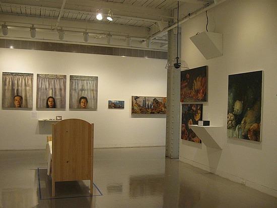 MICA art installation