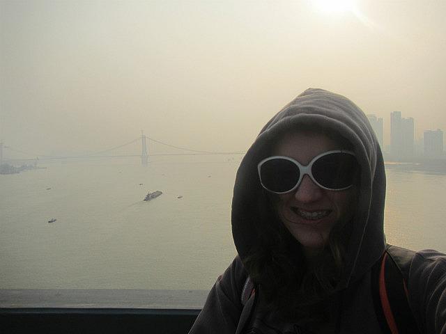 Me on the big bridge