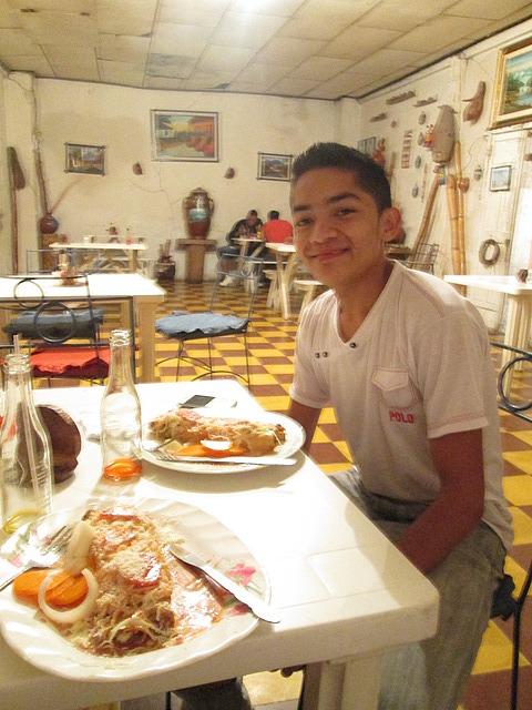 Josh at Casa Tipica