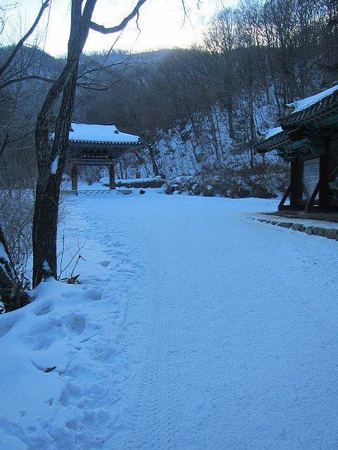 Baengyeonsa Temple entrance