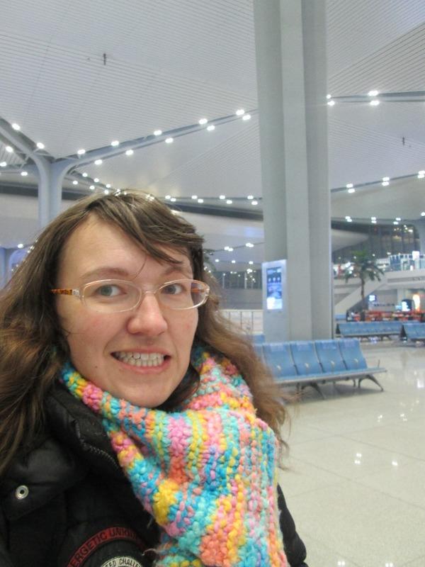 Me at Taiyuan South railway station