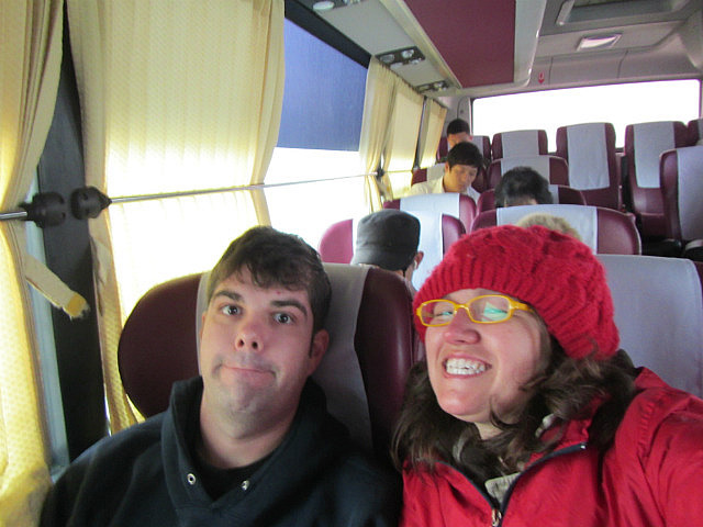 On the bus to Yuseong