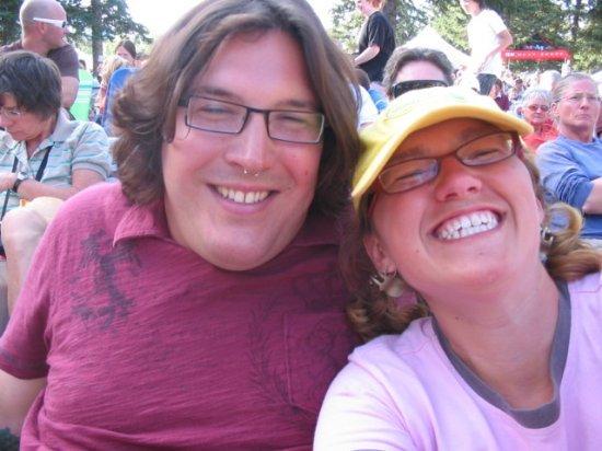 Keith and me