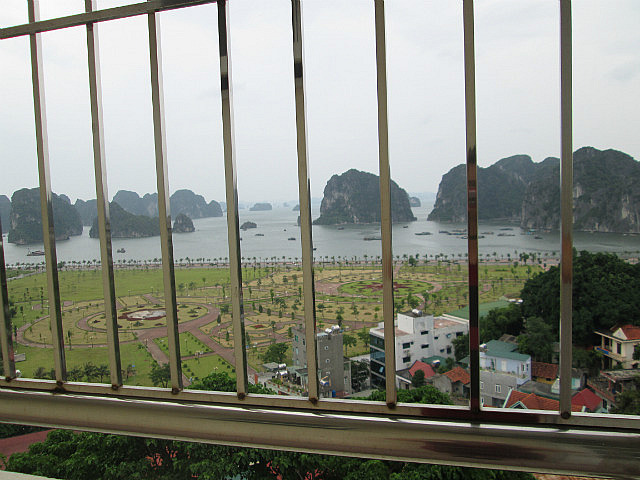 My awesome view of Halong Bay