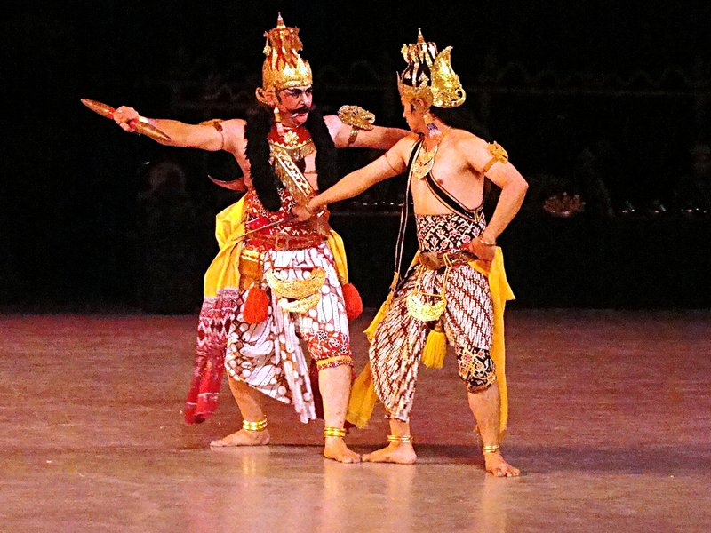 S00639 Ramayana episode 4 - Rama and Rahwana