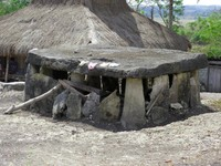 Megalith tomb in Wundut village