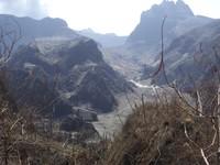 Gunung Kelud after the 2014 eruption