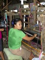 Manual loom in Troso