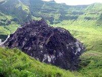 Blitar - Kelud volcano lava dome
