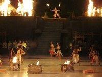 Ramayana ballet - Fire scene