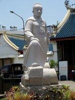 Cheng He statue
