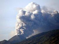 Merapi spewing smoke