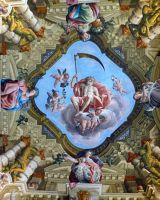 Amazing ceiling - Palazzo Moroni - Bergamo