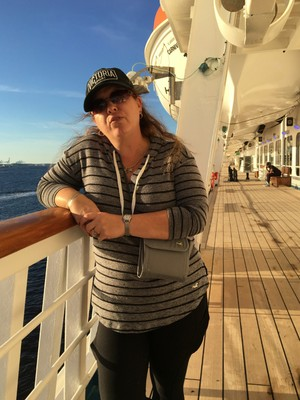 Lynde on deck