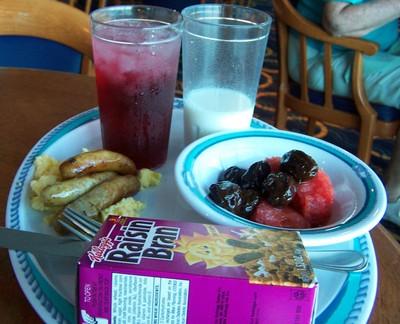 Bob's breakfast