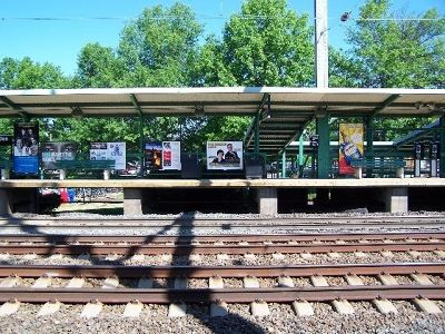 Train station in Princeton