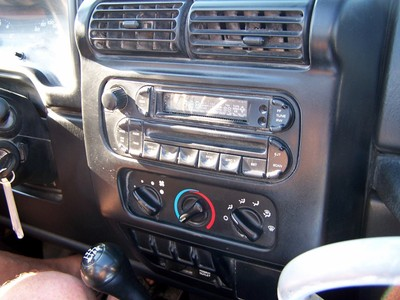 Radio in the jeep