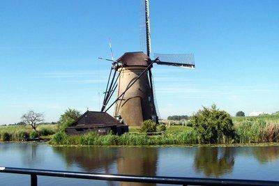Windmill at Kinderkjik in 2009