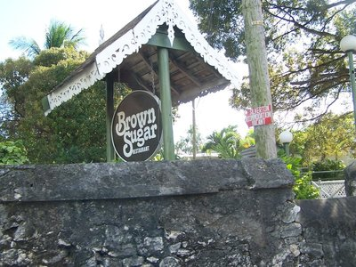 Brown Sugar sign in 2006