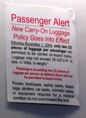 Passenger Alert in 2007
