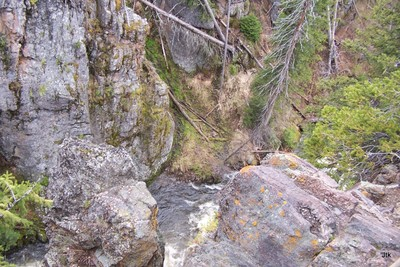 J's photo of Kepler Falls - looking down