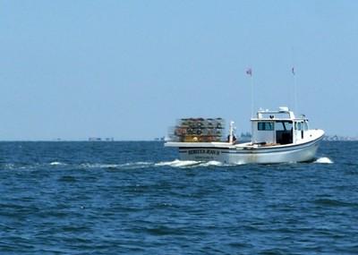 Crab pot boat