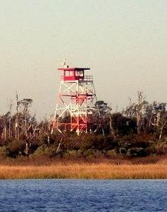 Camp Lejeune observation tower