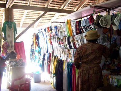 Small boutique selling clothes