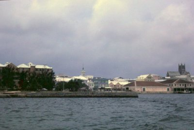 Hamilton from the water - City Hall and Cathedral
