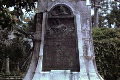 Somer's Garden monument