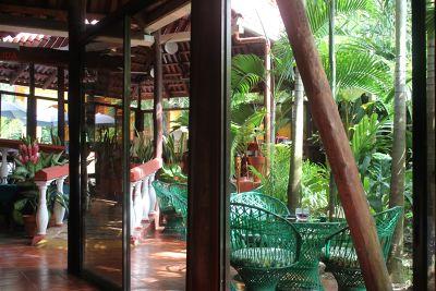 Restaurant from inside