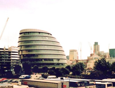 The GLA (the new City Hall - Greater London Authority)