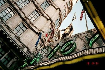 Marquee of the Savoy