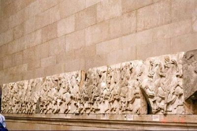 Elgin Marbles  A section of the frieze from the Parthenon