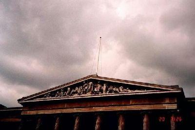 Pediment of the British Museum