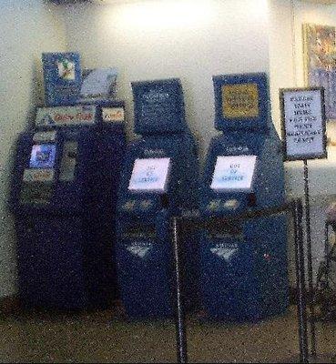 nonworking ticket machines
