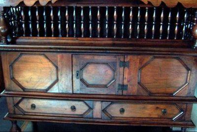 Cedar Dole Cupboard