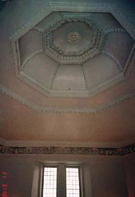 Ceiling of the octagonal room