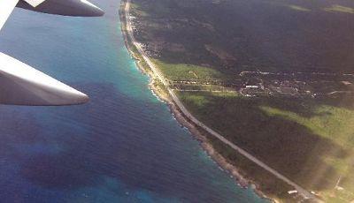 Circling around to the Santo Domingo airport - Dominican Republic