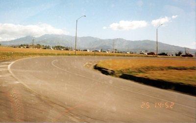 Approaching town